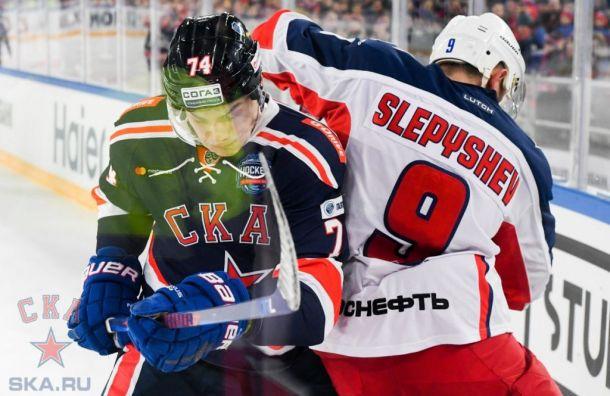 Тренер СКА прокомментировал поражение хоккеистов