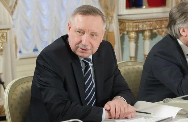 Беглов уволил семь чиновников Смольного