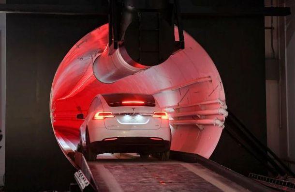 Как тебе такое, россиянин: Маск открыл скоростной тоннель вСША