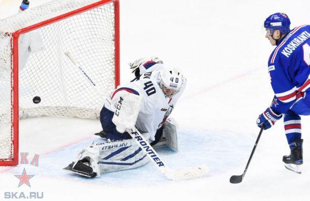 Тренер СКА похвалил хоккеистов заматч против «Торпедо»