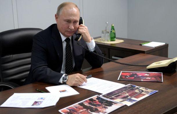 Путин исполнил мечту тяжело больной девочки Вероники