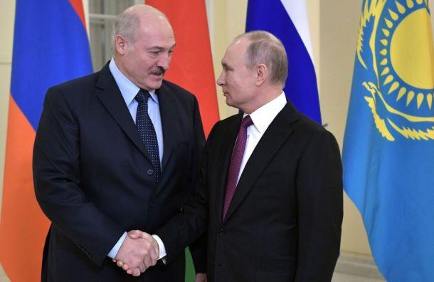 Путин поспорил сЛукашенко оцене нагаз для Белоруссии