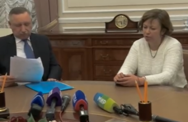 Активистка Алла Андреева добилась личной встречи сБегловым