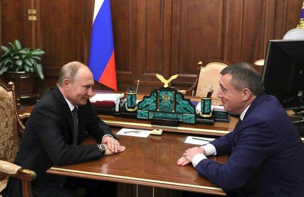 Путин назначил врио губернатора Сахалинской области