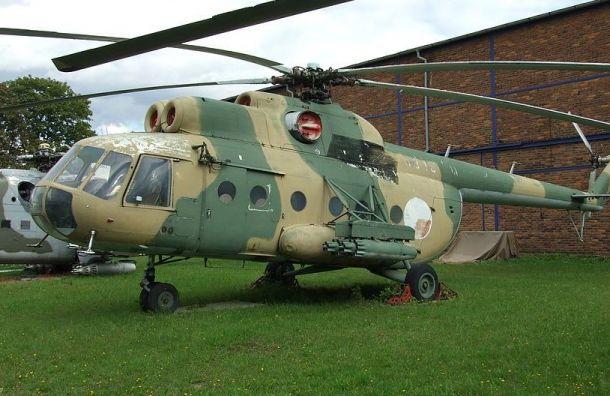 Под Томском упал вертолет Ми-8
