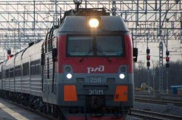 Электрички идут наМосковский вокзал сопозданием