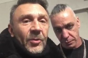 Шнуров научил Линдеманна материться по-русски