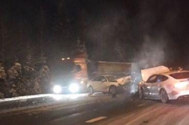 Двое погибли встрашной аварии на«Скандинавии»