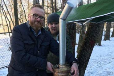 Милонов собирается открыть вПетербурге «сирийскую шаверму»