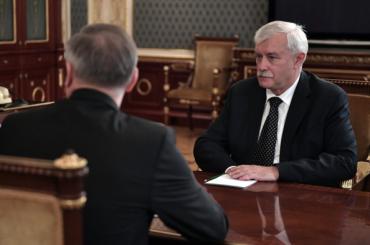 Полтавченко трудоустроится вОСК доконца недели