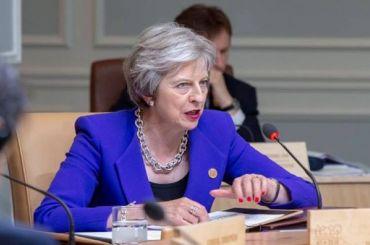 Мэй похвалила британских военных зазащиту отроссийского вторжения