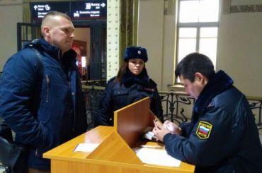 11 петербуржцев узнали освоих задолженностях навокзалах города