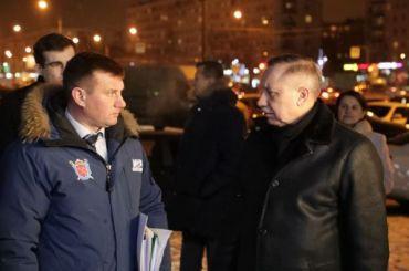 Беглов недоволен украшением Невского района