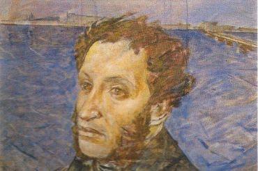 Портрет Пушкина нашли под верхним слоем картины «Колхозницы»