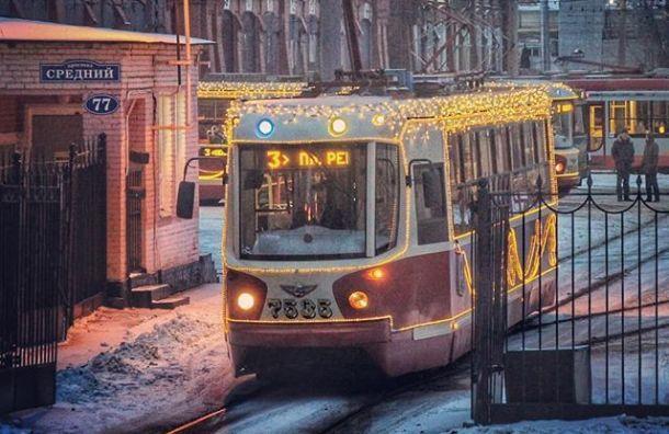 Электротранспорт перевез вновогодние каникулы 3,6 млн пассажиров