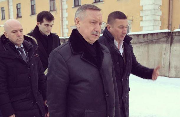 Беглов поручил доработать проект благоустройства набережной Карповки