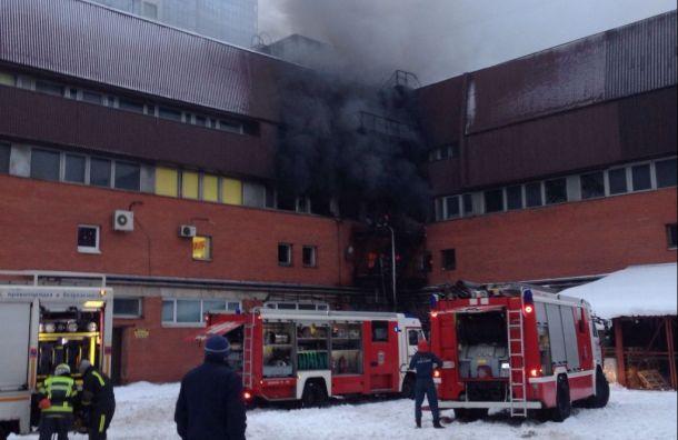 МЧС сообщило опогибших при пожаре вкомплексе газетной типографии