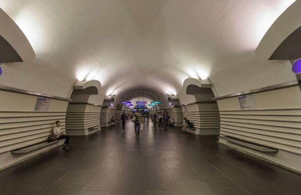 Ремонт эскалатора изменит режим работы станции «Невский проспект»