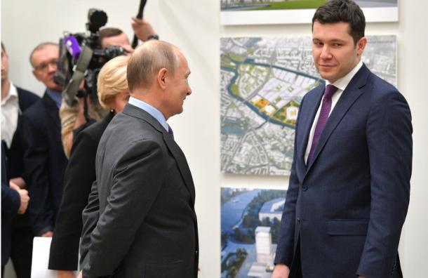 Путин пожаловался, что непопал вЭрмитаж
