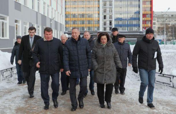 Беглов распорядился ввести режим повышенной готовности из-за непогоды