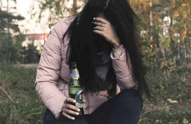 Школьницу откачивают вдетской больнице после отравления алкоголем