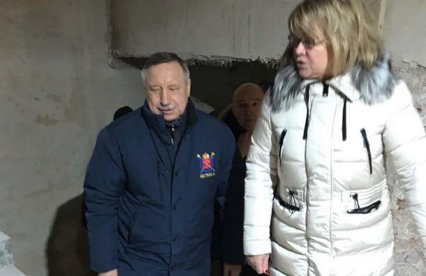 Беглов поручил закончить ремонт школы №255 ксентябрю