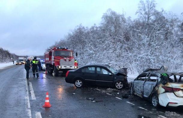 Три человека погибли вДТП наТаллинском шоссе