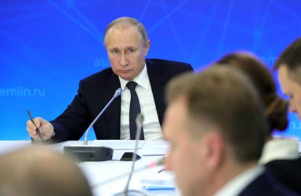 Путин назвал томос обавтокефалии наУкраине опасным политиканством