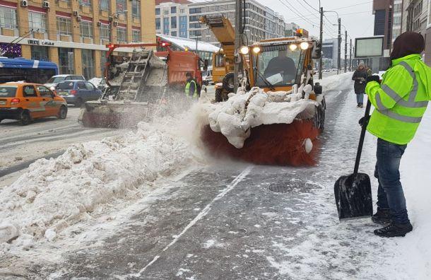 Бондаренко остался недоволен уборкой центра Петербурга