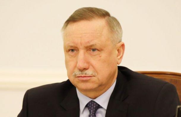 Каждому полопате: Беглов выразил готовность убирать улицы Петербурга