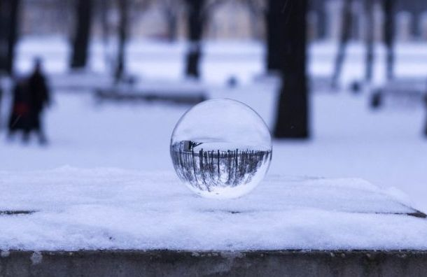 Мощный снегопад накроет Петербург 10 и11января
