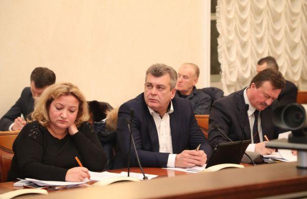 Беглов отчитал чиновников наночном совещании поуборке снега