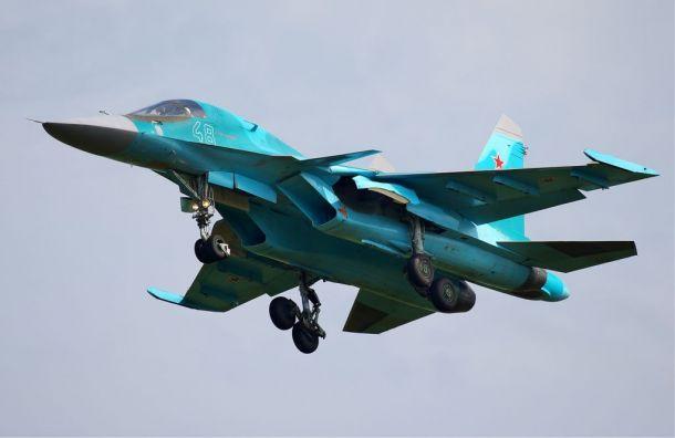 Два истребителя Су-34 столкнулись наДальнем Востоке