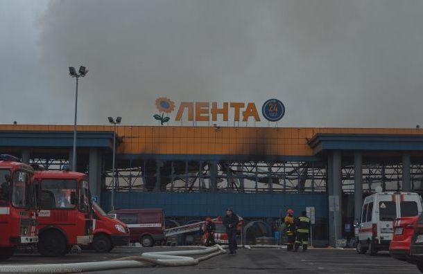 Оператора-разгрузчика могут наказать запожар в«Ленте» наОбводном