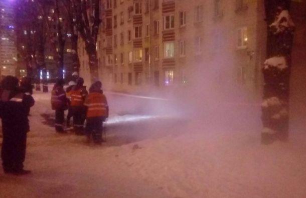 Двое обварились кипятком при прорыве трубы наОрджоникидзе