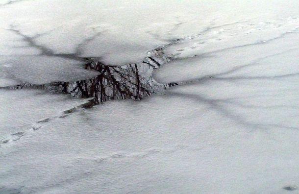 Петербургские спасатели предупредили обопасности выхода налед
