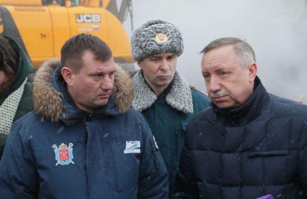 Беглов призвал подчиненных извиниться заплохую уборку снега