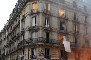 Взрыв вПариже: погибли четыре человека
