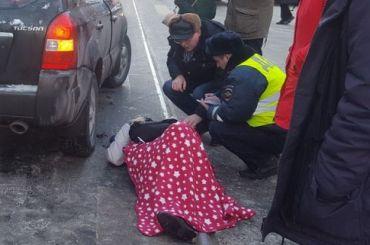 Hyundai сбил женщину наСадовой