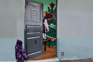 Дверь всоветское прошлое открылась вцентре Петербурга