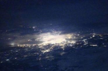 Космонавт сделал уникальный снимок Петербурга сборта МКС