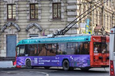 Троллейбусы изменят маршруты из-за репетиций парада наДворцовой