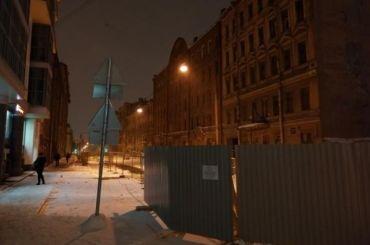 Проезжую часть Тележной улицы перекрыли врайоне исторических домов