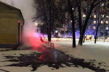 Двое пострадали при прорыве трубы скипятком наМосковском проспекте