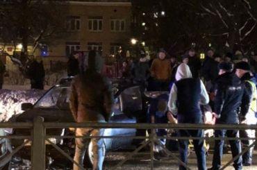 Уходившего отпогони водителя Lada госпитализировали после ДТП