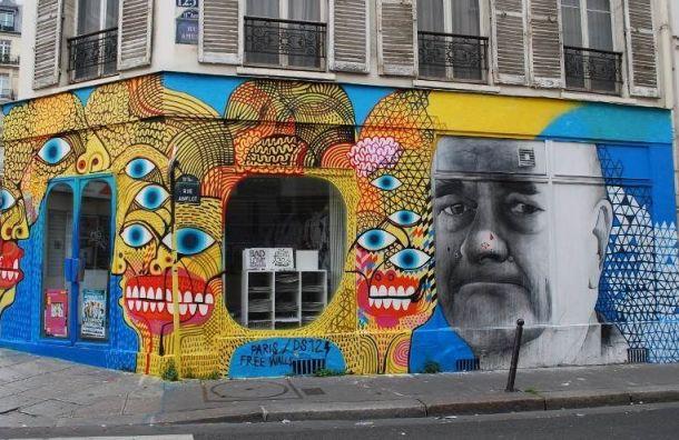 Парижские художники расскажут петербуржцам обуличном искусстве