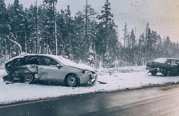 Рекордное число аварий произошло вПеребурге 21января