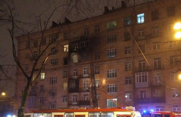 Пожар вдоме наАвиационной улице потушили