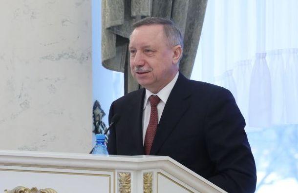 Беглова признали самым медийным главой региона вСЗФО