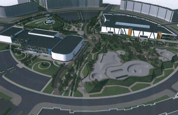 «Газпром» отказался строить спорткомплекс на«большом круге» Славянки